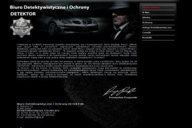 Przemysław Przygoński DETEKTOR Biuro Detektywistyczno-Ochroniarskie - Detektyw Kalisz