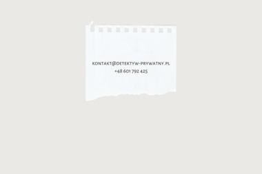 Prywatny Detektyw - Usługi Detektywistyczne Głogów