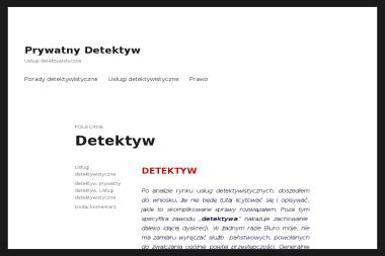 Biuro Detektywistyczne Moder - Detektyw Poznań