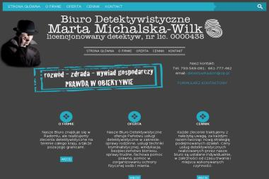 Biuro Detektywistyczne Marta Michalska-Wilk - Agencja Detektywistyczna Radom