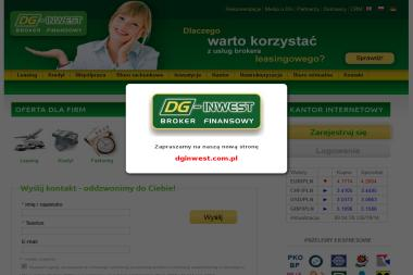 DG-INWEST Broker Finansowy - Leasing samochodu Słupsk