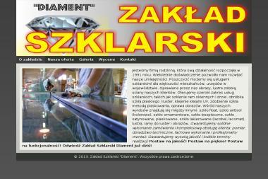 Firma Diament. Zakład Szklarski oprawa obrazów - Wyposażenie wnętrz Limanowa