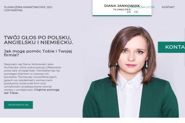 This Is It Diana Jankowiak Tłumaczenia Ustne i Pisemne - Tłumacze Gubin
