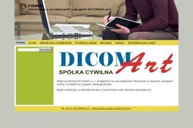 Dicom art. S.C. Mazur Zbigniew Frąckowiak Andrzej - Agencja interaktywna Śrem