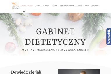 Gabinet dietetyczny mgr inż. Magdalena Tymczewska-Engler - Dietetyk Gniezno