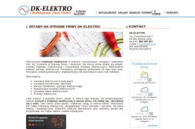 DK-ELEKTRO - Inteligentny dom Zielona Góra