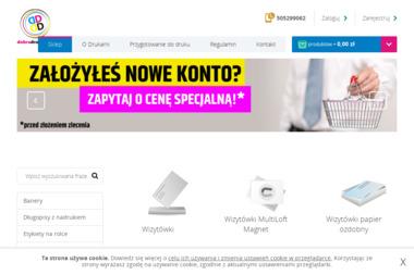 Drukonsul. Mirosław Banaszczyk - Ulotki A6 Gdańsk