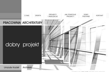 Pracownia Architektury-Dobry Projekt, Kordian Kozieł. Architekci, projektanci - Adaptacja projektów Częstochowa