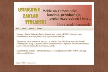 Usługowy Zakład Stolarski Leszek Konaszewski - Stolarz Mońki