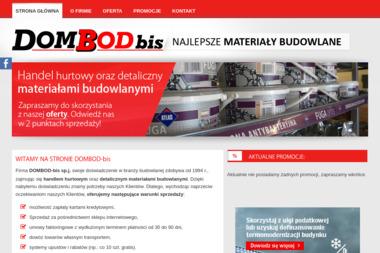 Materiały Budowlane Dombod-Bis Sp.j. - Hurtownia Budowlana Rudy