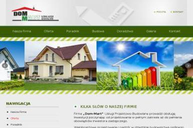 Dom-Mart Usługi Projektowo-Budowlane - Architekt Starachowice