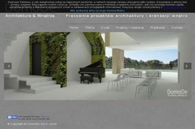 Domode Architektura & Wnętrza - Projektant Domów Brzesko