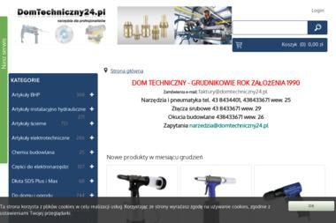 Dom Techniczny Grudnikowie Sp.J. Wyroby metalowe, farby, lakiery - Spawacz Wieluń