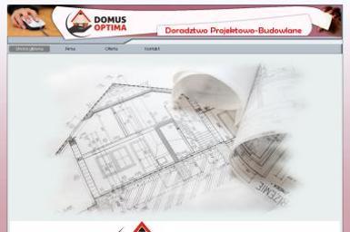 Domus Optima Doradztwo Projektowo-Budowlane. Projekty architektoniczne, projektowanie - Adaptacja projektów Piła