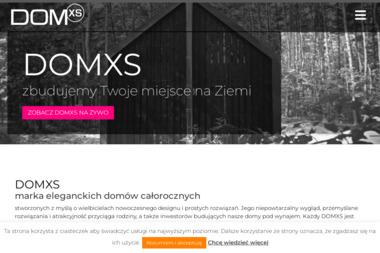 Domxs Sp. z o.o. - Tynki Maszynowe Trześcianka