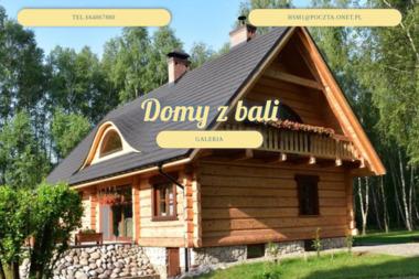 ZDN Hieronim Jaskuła. Domy z bali, dom z bali - Domy Drewniane Chłopków