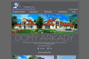 Biuro Projektów Budownictwa ARKADA - Adaptacja Projektu Domu Konin