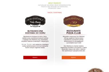 Don Martinez Restauracje Meksykańskie - Firma Gastronomiczna Rybnik