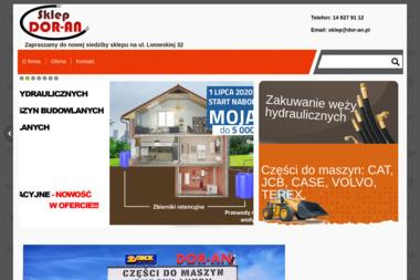 FHU Dor-An Dorota Smoła. Części do maszyn budowlanych - Maszyny Budowlane Używane Dębica