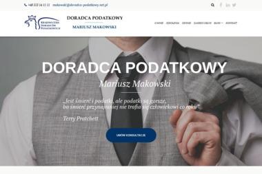 Doradca Podatkowy. Mariusz Makowski - Rachunkowość Białogard
