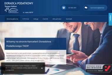 Kancelaria Podatkowa Dorf Tomasz Kołtun Doradca Podatkowy - Biuro rachunkowe Stalowa Wola