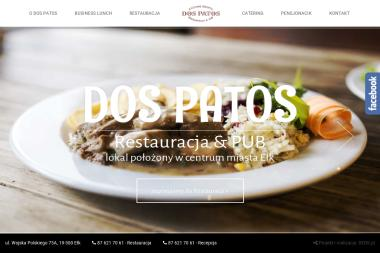 Dos Patos S.J. Pub, Restauracja, Apartamenty - Gastronomia Ełk