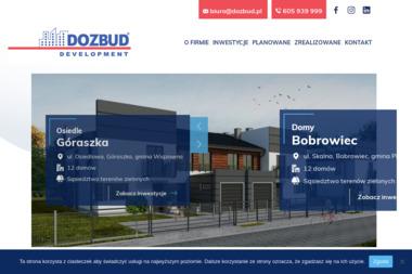 Dozbud Development Zalewski Zbigniew - Tynki Mechaniczne Korytnica
