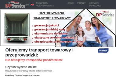 DP Serwis. Usługi międzynarodowe, transport międzynarodowy - Przeprowadzki Malbork