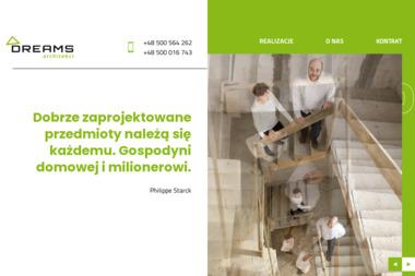 Dreams Architekci. Biuro architektoniczne, biuro projektowe - Projekty domów Mińsk Mazowiecki