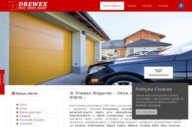 Drewex - Drzwi Ażurowe Waganiec