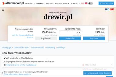 FUPH Drewir - Schody drewniane Simoradz