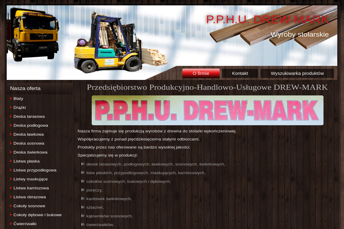 PPHU Drew Mark Marek Migas - Stolarz Jordanów