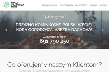 U Grzegorza. Skład opału, tartak - Ekogroszek Gniechowice