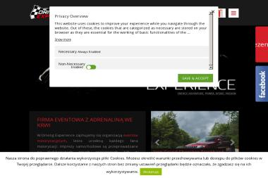 Driving Experience - Nagłośnienie, oświetlenie Kraków