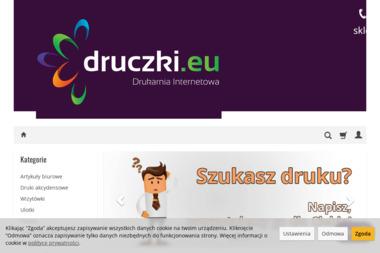 Drukarnia Internetowa Druczki.eu. Druki akcydensowe, druczki - Drukarnia Radzyń Podlaski