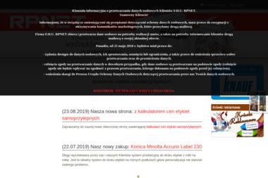 Druk Handlowy i Reklamowy Kontakt Sp. z o.o. Drukarnia cyfrowa, druk cyfrowy - Drukarnia Bełchatów