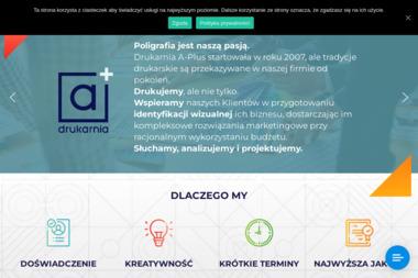 Drukarnia A-Plus - Druk katalogów i folderów Koszalin