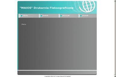 Maios Drukarnia Fleksograficzna. Andrzej Maios-Majewski - Drukarnia Wojkowice