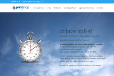 Printshop Pierwsza Drukarnia Internetowa. Ulotki a4, ulotki a5 - Ulotki Reklamowe Radom