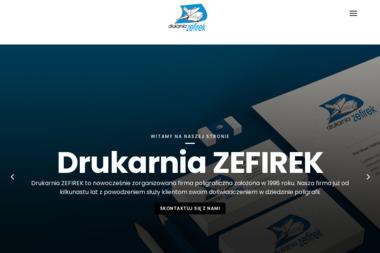 Usługi Poligraficzne Zefirek s.c. - Ulotki Skawina