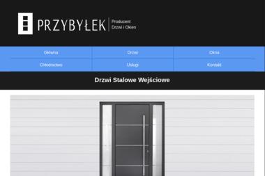 Firma PUH Krzysztof Przybyłek. Okna i drzwi - Okna PCV Kowanówko