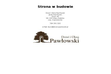Zakład Stolarski Tadeusz Pawłowski - Stolarz Orzyc