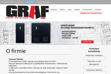 Przedsiębiorstwo Graf s.c. Drzwi stalowe, konstrukcje stalowe - Obróbka metali Giżycko
