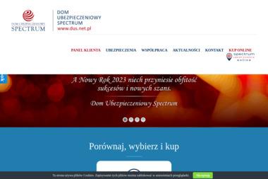 DOM UBEZPIECZENIOWY SPECTRUM. Ubezpieczenia, ubezpieczenia majątkowe, doradztwo ubezpieczeniowe - Ubezpieczenie firmy Płock