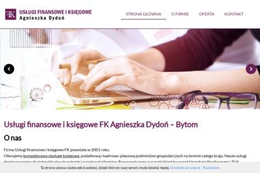 Usługi Finansowe i Księgowe FK Agnieszka Dydoń - Prowadzenie Księgowości Bytom