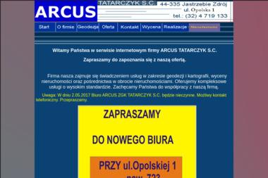 Arcus Tatarczyk s.c. Geodezja, geodeta, nieruchomości - Geodeta Jastrzębie-Zdrój