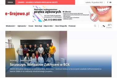www.e-Grajewo.pl. Portal Internetowy - Strony internetowe Grajewo