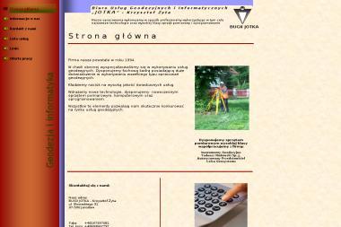 Żyta Krzysztof Biuro Usług Geodezyjnych i Informatycznych Jotka - Geodeta Jarosław
