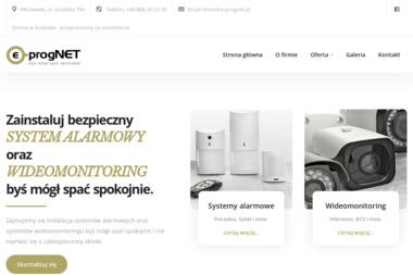 E-Prognet. Usługi informatyczne, systemy alarmowe. Sławomir Pogorzały - Reklama Internetowa Włocławek