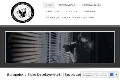 Europejskie Biuro Detektywistyki i Bezpieczeństwa Zarząd Centralny Sp. z o.o. - Detektyw Komorniki